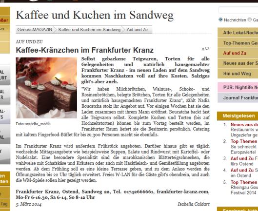 Frankfurter Kranz